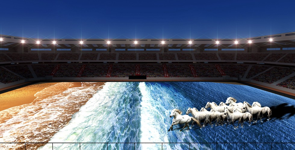 """A """"magical show"""" is promised for the Opening Ceremony of the World Equestrian Games in Normandy ©Skertzo"""