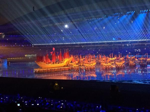 Zhang He's voyage of discovery ©Nanjing 2014