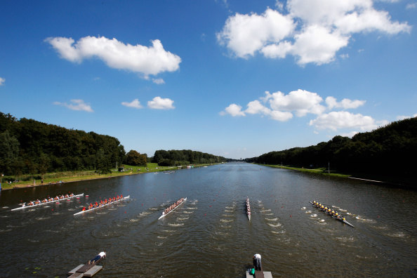 Six of today's eight finals at the World Rowing Championships in Amsterdam produced world best times ©Getty Images