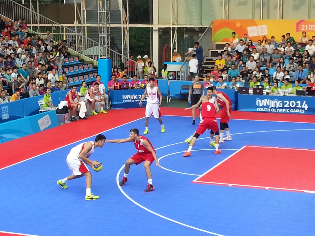 3x3 basketball is the future for growing the sport ©ITG