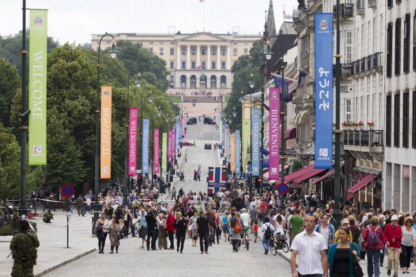 A demonstration will take place in the streets of Oslo on September 19 against the bid ©AFP/Getty Images