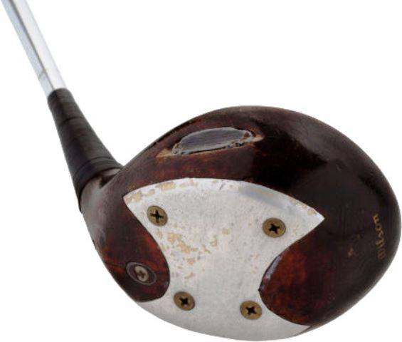 A driver used by Sam Snead is being auctioned in Dallas later this month ©Heritage Auctions