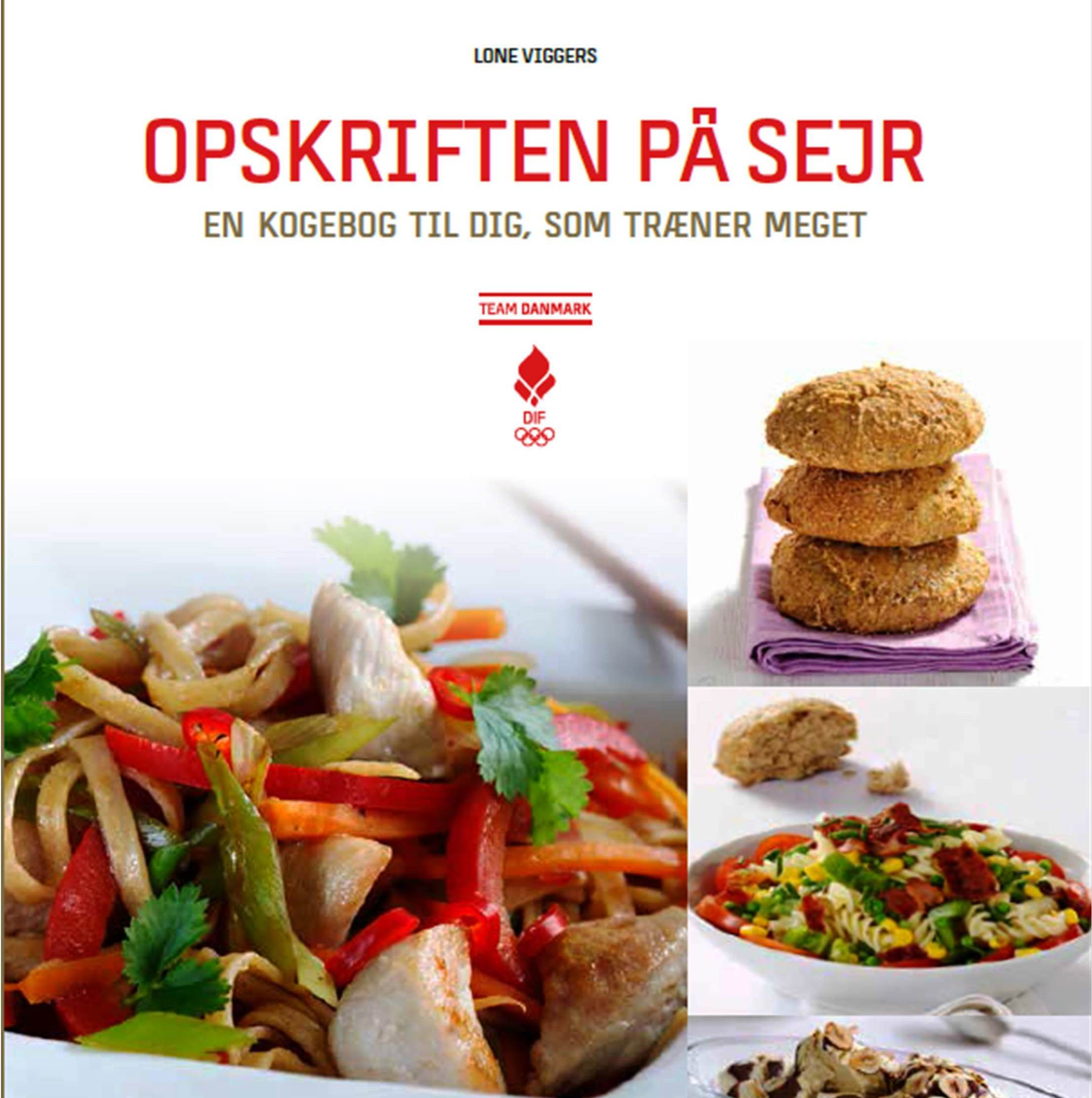 A new healthy eating book for Danish athletes has been launched ©Lone Viggers