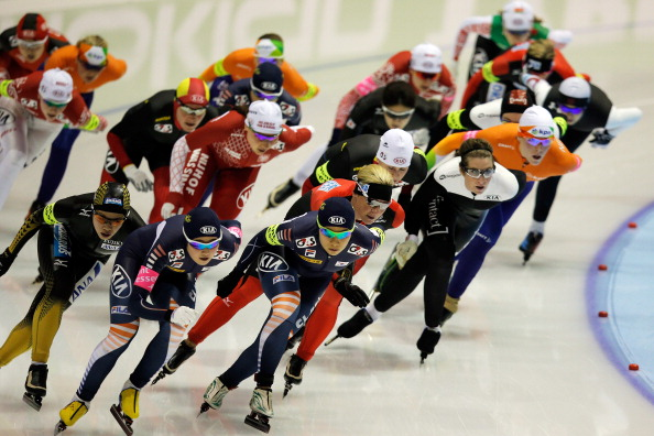 A speed skating mass start could join synchronised figure skating at Pyeongchang 2018 if the International Skating Union gets its way ©Getty Images