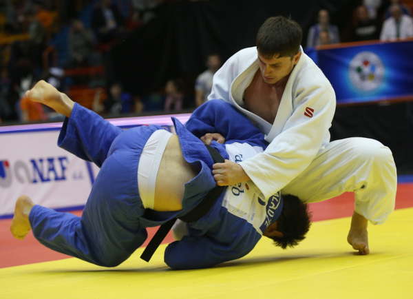 Adlan Bisultanov sent Russia to the top of the medal table at the Zagreb Judo Grand Prix ©IJF