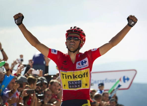 Alberto Contador has all but sealed the Vuelta a España title after winning stage 20 ©Getty Images
