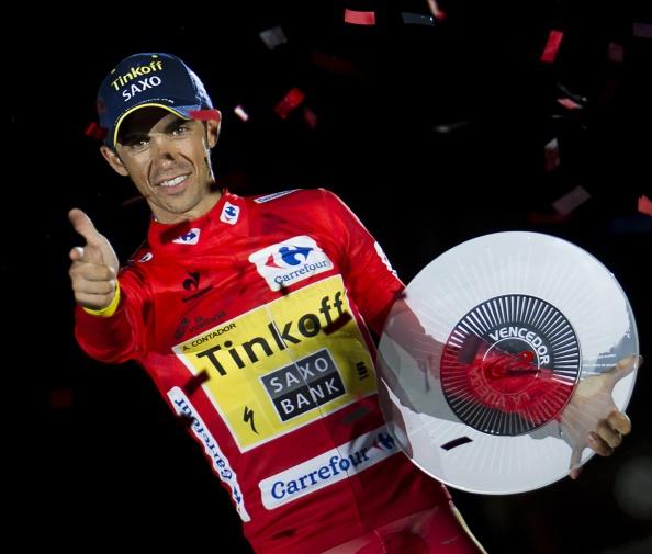 Alberto Contador has won his third Vuelta a España ©Getty Images
