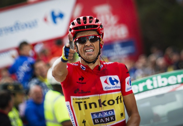 Alberto Contador moved a step closer to the overall Vuelta a España title with a stage 16 victory ©Getty Images