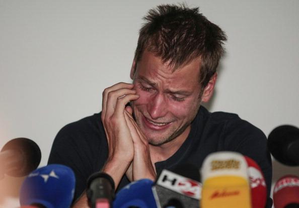 Alex Schwazer announced his retirement after failing a drugs test days before London 2012 ©AFP/Getty Images