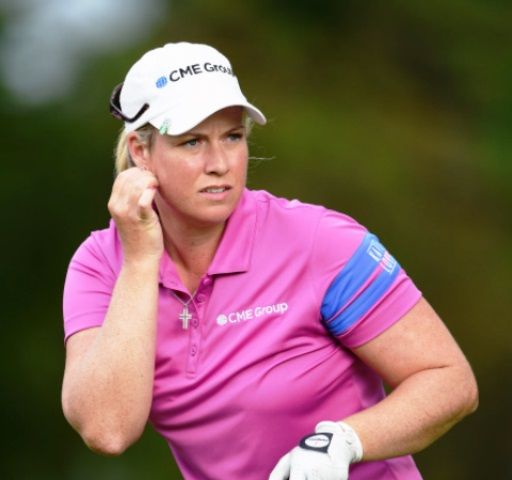American Brittany Lincicome leads the Evian Championship by one shot after two rounds ©Getty Images