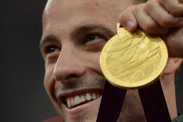 Arguably the most well-known Paralympic athlete of all time, Oscar Pistorius has not been included in the list of top 25 moments ©AFP/Getty Images