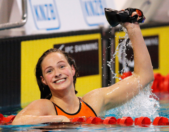 At 13, swimmer Chantalle Zijderveld is the youngest nominee ©Getty Images