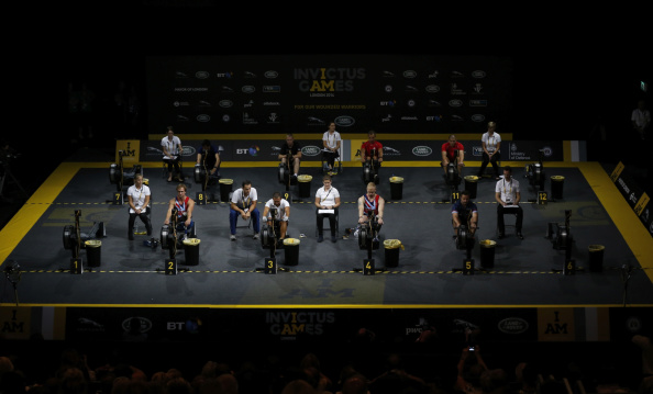 Athletes also took to Here East where they competed across the endurance and sprint indoor rowing competitions ©Getty Images
