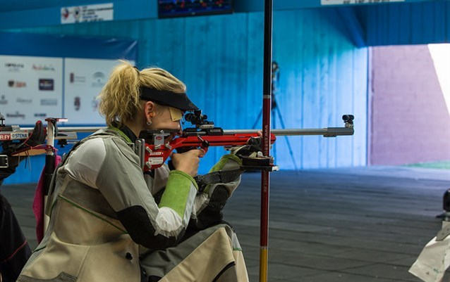 Beate Gauss secured one of two German gold medals at the ISSF World Championships in Granada ©ISSF