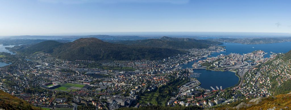 Bergen in Norway will host the 2017 UCI Road World Championships ©Wikipedia