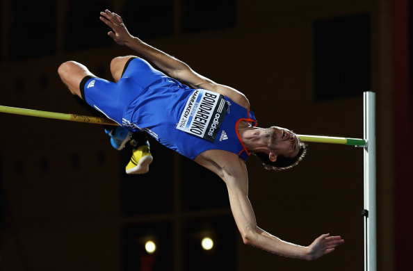 Bohdan Bondarenko who won his final big high jump of the season at the IAAF Continental Cup tonight Getty Images