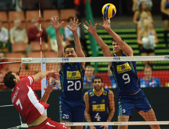 Brazil now have two wins under their belts at the Volleyball World Championship in Poland ©Getty Images