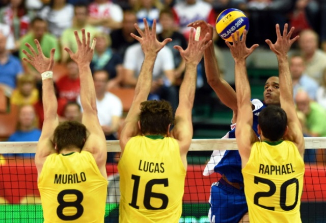 Brazil picked up their 99th win in World Championship history with victory over Bulgaria tonight ©Getty Images