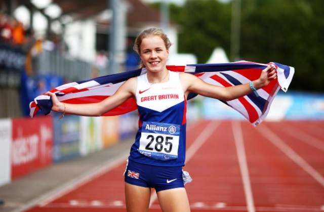 British sprinter Maria Lyle has been voted as the IPC Best Youngster for August ©Getty Images