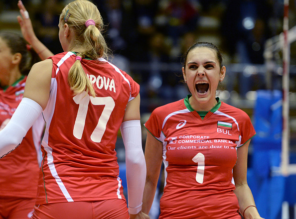 Bulgaria heaped the pressure on Turkey to end their unbeaten record in five tense sets ©Getty Images for FIVB