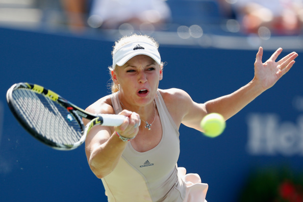Caroline Wozniacki is into her first Grand Slam final in five years ©Getty Images for USTA