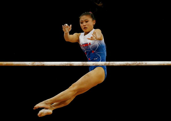 North Korea's Cha Yong Hwa, who won two medal at the 2006 Asian Games in Doha, has been banned for falsifying her age ©Getty Images
