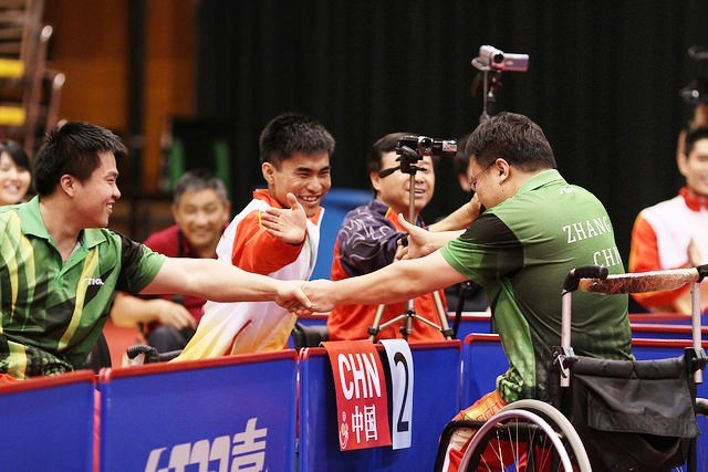 China domninated team events in Beijing on the final day of the Para table tennis World Championships ©ITTF