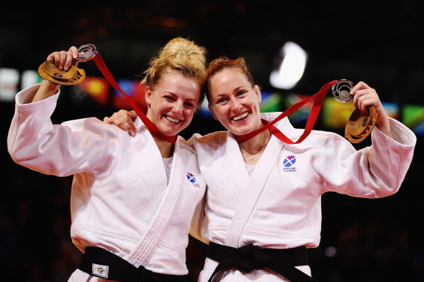Connie Ramsay (right) is part of the Sport for Yes campaign that believes Scotland should vote for independence in Thursday's referendum ©Getty Images