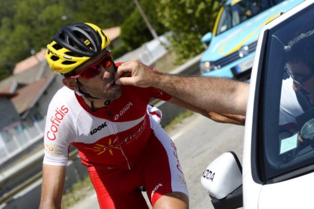 Daniel Navarro timed his assault to perfection today to take stage 13 on the Vuelta ©AFP/Getty Images
