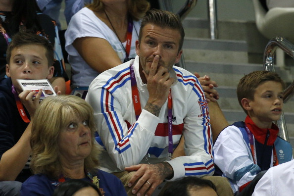 """David Beckham, an integral member of the London 2012 Olympics team, has urged Scottish voters """"let's stay together"""" ahead of the impending independence referendum ©Getty Images"""