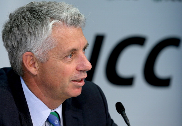 "David Richardson, ICC chief executive, said ""the safety and security of players and officials is of paramount importance"" ©Getty Images"