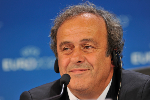 Despite the controversy, UEFA President Michel Platini rallied at FIFA for failing to raise concerns during the World Cup ©Getty Images