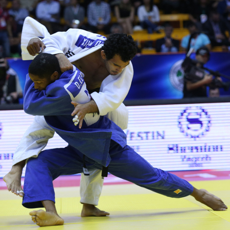 Dex Elmont put a miserable World Championships behnd him to secure gold at the Judo Grand Prix in Zagreb ©IJF