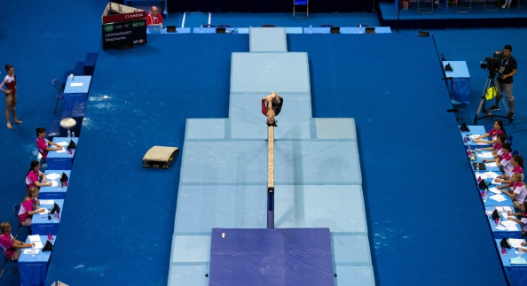 Disciplinary proceedings have been opened against American apparatus manufacturer AAI after it sold unapproved mats to Nanjing 2014 organisers ©Getty Images