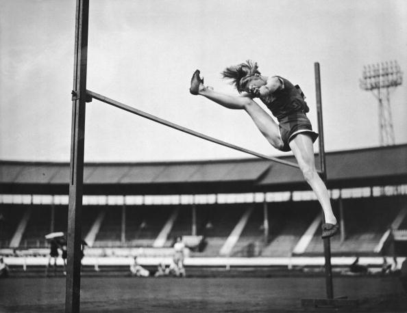 Dorothy Tyler  was a two-time Olympic silver medallist ©Getty Images