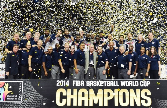 FIBA has hailed the digital success of this year's Basketball World Cup in Spain ©AFP/Getty Images
