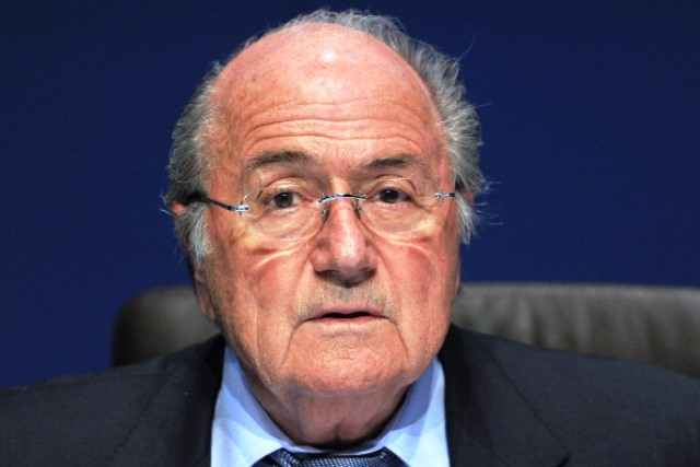 FIFA President Sepp Blatter has said a report into alleged corruption during the World Cup bidding process will remain secret ©Getty Images