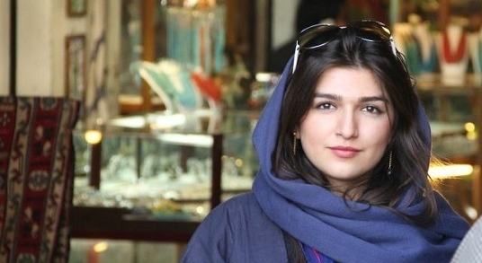 "Ghoncheh Ghavami has been officially charged with ""propaganda against the regime"" after attending a mens volleyball match in Tehran ©Change.org"