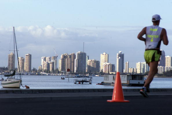 Gold Coast will make its debut on the World Triathlon Series calendar next year ©Getty Images