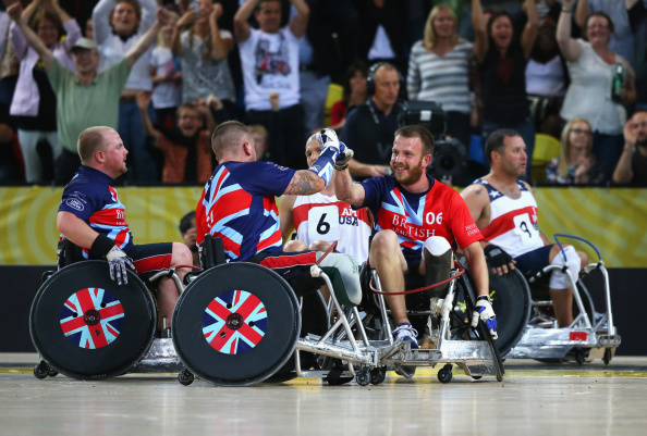 Great Britain sealed a brilliant win in the wheelchair rugby of the Invictus Games ©Getty Images