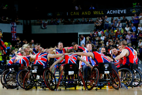 Great Britain won wheelchair basketball gold as action continues at the Invictus Games ©Getty Images