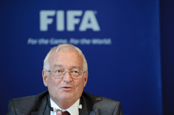 Hans-Joachim Eckert the chairman of the Adjudicatory Chamber of FIFA's Ethics Committee ©Getty Images