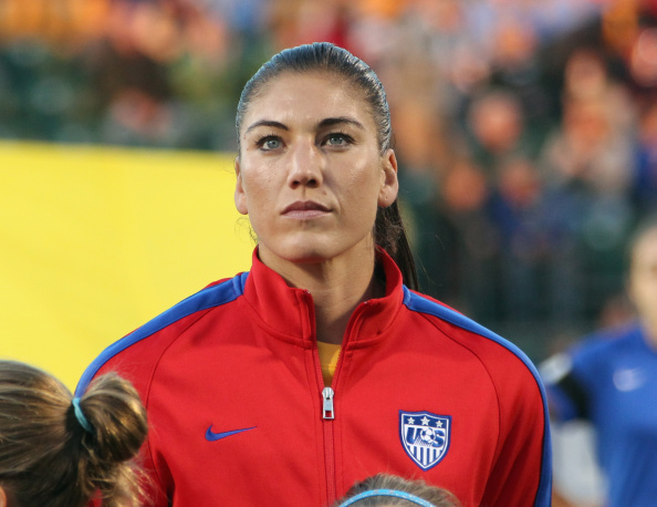 Hope Solo is facing domestic violence charges ©Getty Images