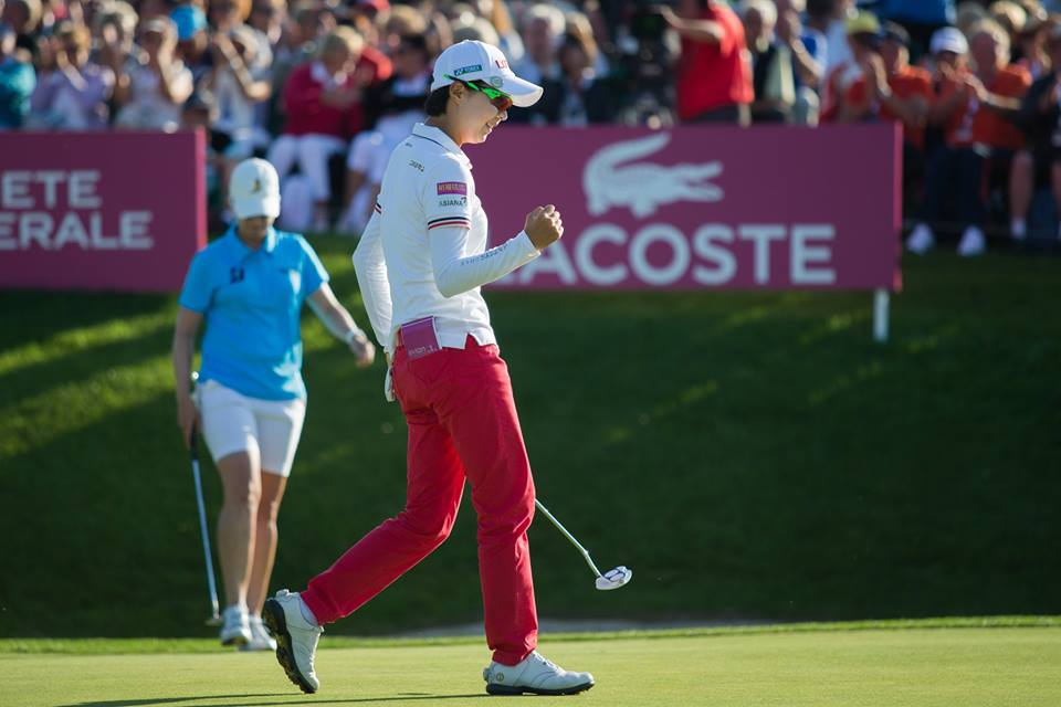 Hyo-Joo Kim has won her first ever Major title with victory at the Evian Championships ©LGPA
