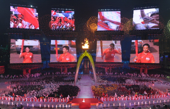 Incheon will seek a different sort of Opening Ceremony from the one seen in 2010 in Guangzhou ©AFP/Getty Images