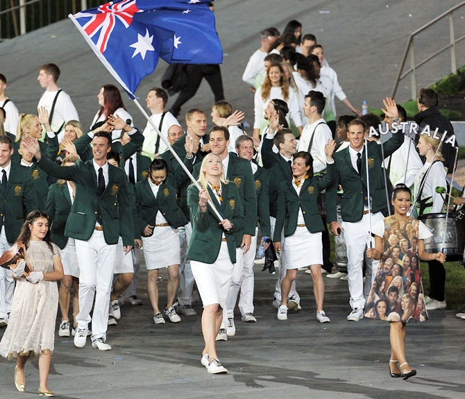 Australia would be interested in taking part in the Asian Games, they have admitted ©AFP/Getty Images