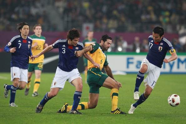 Australia were defeated by Japan in the 2011 Asian Cup Final in Qatar ©Getty Images