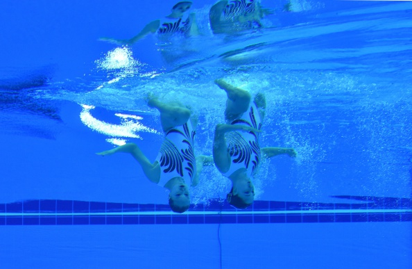 China en route to synchronised swimming glory ©AFP/Getty Images