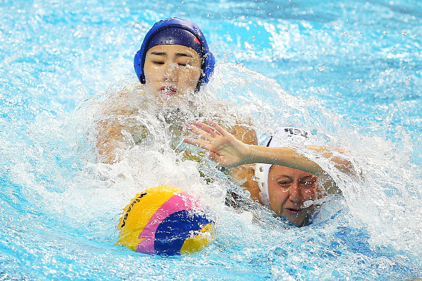 China held off Kazakhstan in a match which enabled them to take gold ©Getty Images