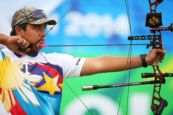 Compound archer Ian Patrick Chipeco of the Philippines